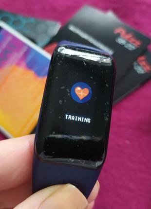 Женский трекер, браслет для спорта, фитнеса, nomi pulzz xb 22, цветной экран