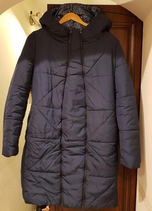 Зимняя куртка-трансформер my secret для беременных на силиконе
