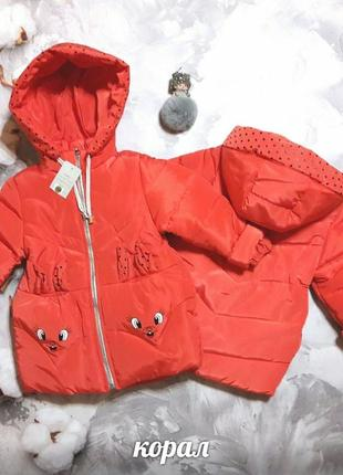 Весенняя куртка на девочку, демисезонная куртка
