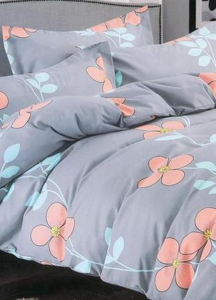 Комплект постельного белья из фланели, евроразмер.