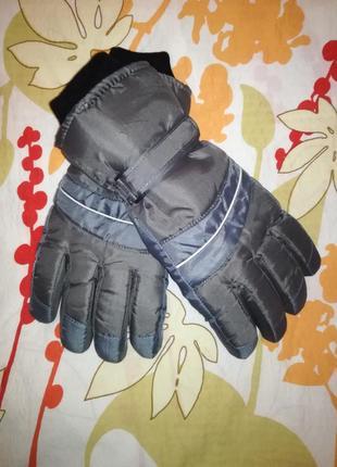 Зимние мужские перчатки ххл