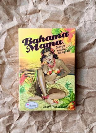 Бронзер / бронзатор bahama mama the balm , thebalm