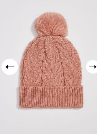 В наличии стильная шапка польша,sinsay