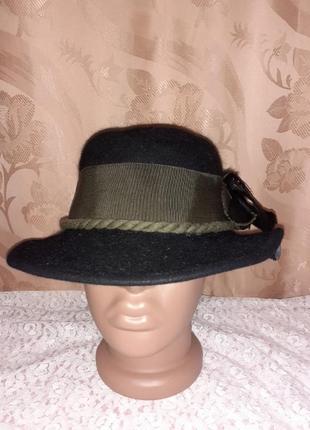 Фетровая шляпка р54