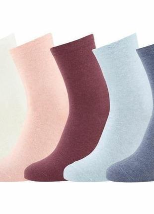 Комплект из 5-ти пар носков esmara! размер 35-38