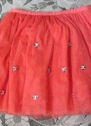 Трендовая фатиновая юбка