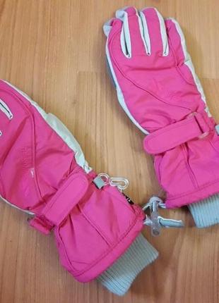 Термоперчатки лыжные девочке