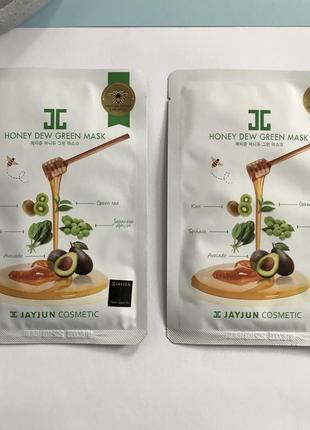 Jayjun тканевые маски с витаминным комплексом