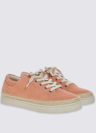 Кожаные кроссовки криперы кеды footglove / шкіряні кросівки