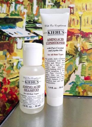 Набор 2ед. - шампунь и кондиционер с аминокислотами для всех типов волос  kiehls