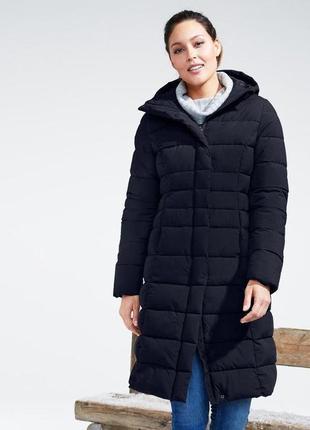 Зимнее стеганное пальто,snow tech с  пропиткой ecorepel®, tchibo,  м евро наш 48-50 новое