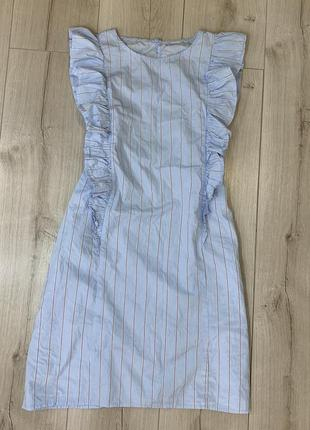 Легкое катоновое платье