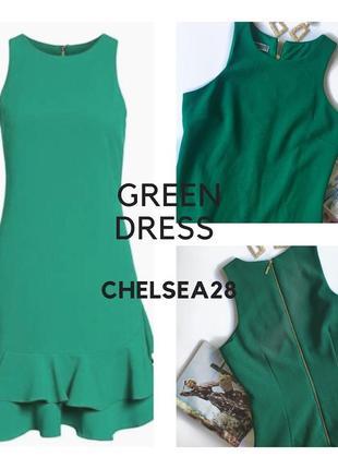 Зелёное платье от chelsea 28