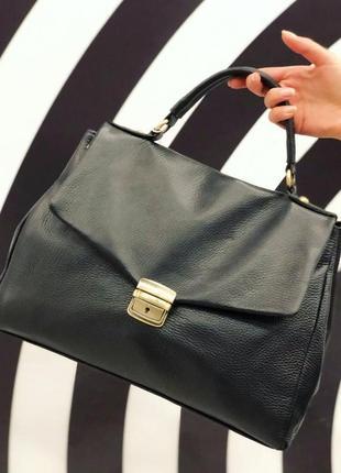Женская кожаная сумка италия люкс laura biagiotti