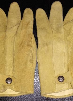 Кожаные замшевые перчатки watsons vanquver