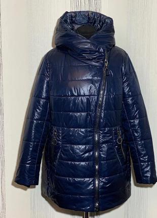 Зимова курточка 50-60 розмірів