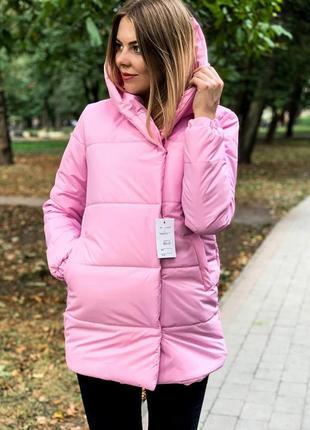 Теплая зимняя куртка пуховик зефирка одеяло