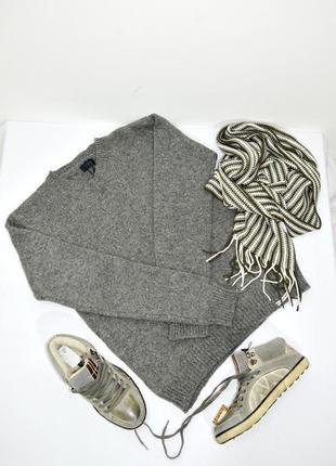 100% шерстяной мужской свитер colins