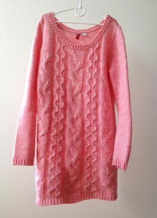 Свитер h&m, туника h&m, свитер-платье, длинный свитер h&m