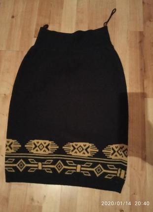 Продам женскую юпку вязаную
