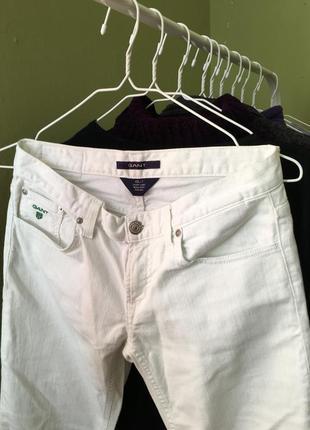 Білі джинси gant3 фото