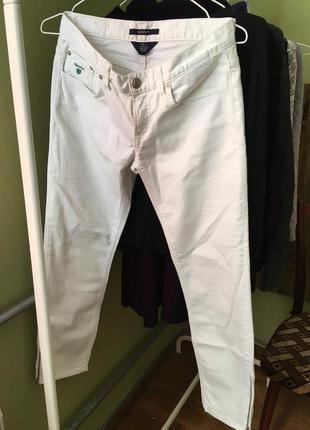 Білі джинси gant2 фото