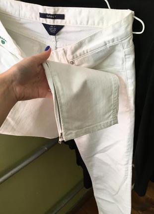 Білі джинси gant4 фото