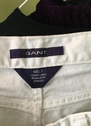 Білі джинси gant6 фото