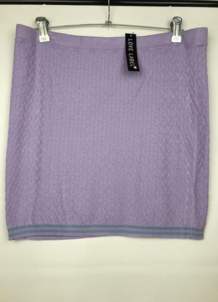 Трикотажная юбка сток