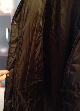 Утеплённое пальто батал3 фото