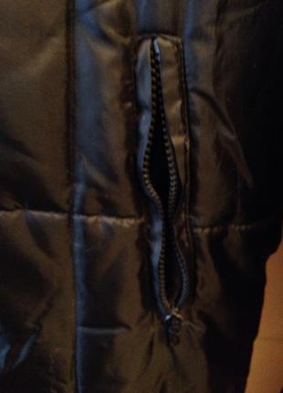 Утеплённое пальто батал7 фото
