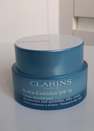 Увлажняющий крем для нормальной и склонной к сухости кожи clarins