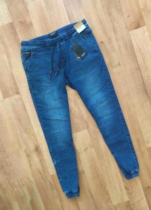 House джинсовые джогеры