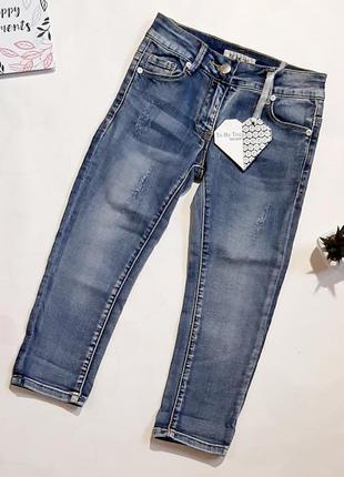 Джинсы брендовые стильные джинсы на девочку