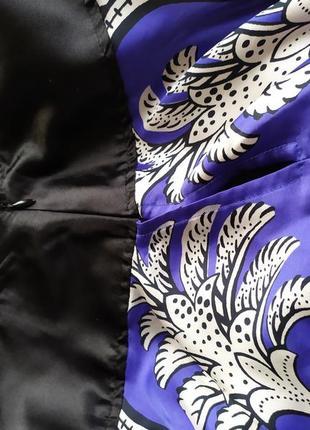 Оригинальная длинная юбка mango suit3 фото