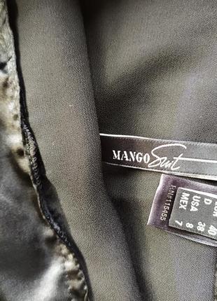 Оригинальная длинная юбка mango suit5 фото