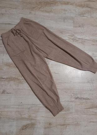 Вязаные штаны, трикотажные штаны, теплые штаны