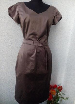 Laura ashley платье футляр цвета хаки