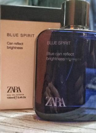Чоловічі парфуми zara man blue spirit 100ml