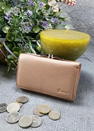 Кожаный кошелек портмоне, 100% натуральная кожа, есть доставка бесплатн