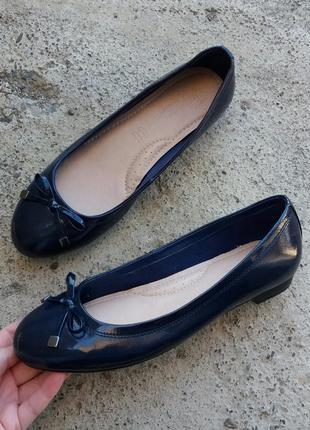 P.39 footglove (оригинал) кожаные туфли, балетки.