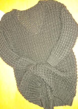 Шикарный свитер крупной вязки!9 фото