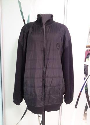 Куртка/ветровка комбинированная большой размер