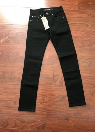 Брюки штаны на мальчика подростка школьные черные