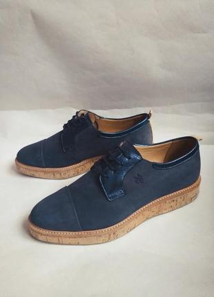 Marcopolo португалия оригинальные кожаные туфли 39