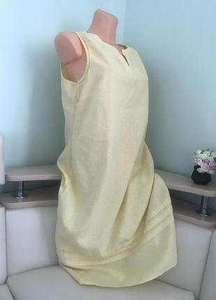 Лляне легеньке літнє плаття/льняное легкое летнее платье