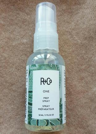 Профессиональный спрей-праймер для укладки волос r+co, идеален для пористых волос