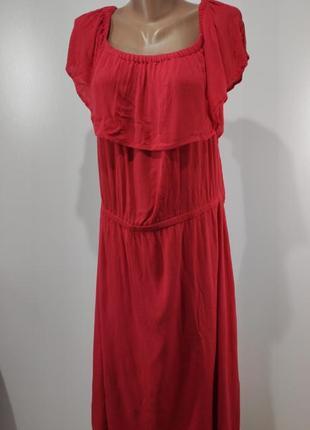 Летнее коралловое платье lindex размер 604 фото