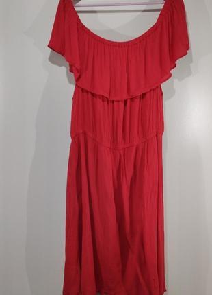 Летнее коралловое платье lindex размер 602 фото