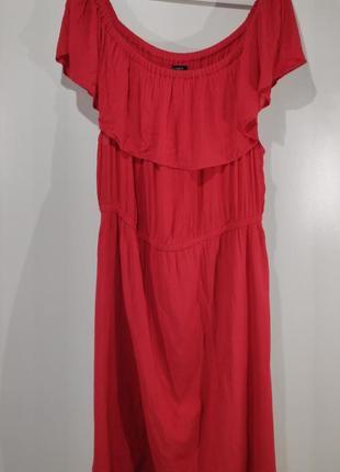 Летнее коралловое платье lindex размер 605 фото